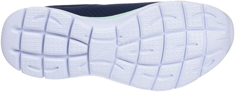 Skechers Women's Summits Sneaker B076XH6W21 8.5 B(M) US|Navy Aqua