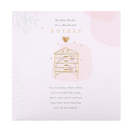 Tarjeta de cumpleaños para madre de Hallmark - diseño ...