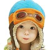 Beanie Pilot Cap , Misaky New Boys Winter Warm Hat Crochet Earflap Hats