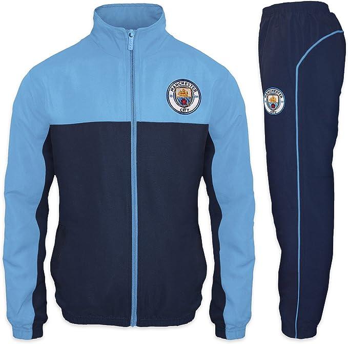 Manchester City FC Men/'s Official Pocket T-Shirt Navy New
