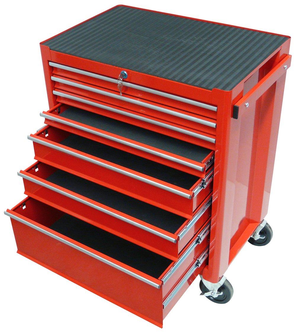 Famex 837-L Werkzeugwagen mit 7 Schubladen, leer: Amazon.de: Baumarkt