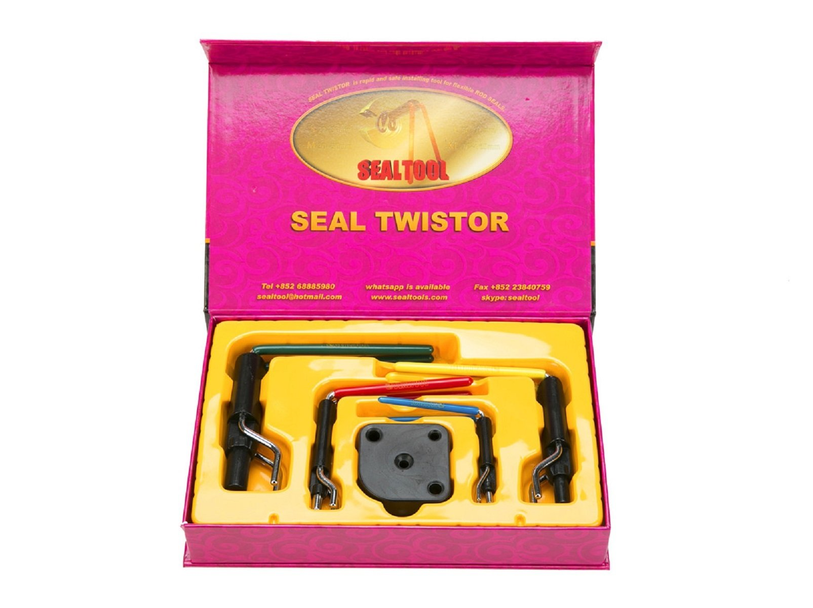 8milelake Hydraulic Cylinder Piston Rod Seal U-cup Installation Tool kit by 8MILELAKE (Image #1)
