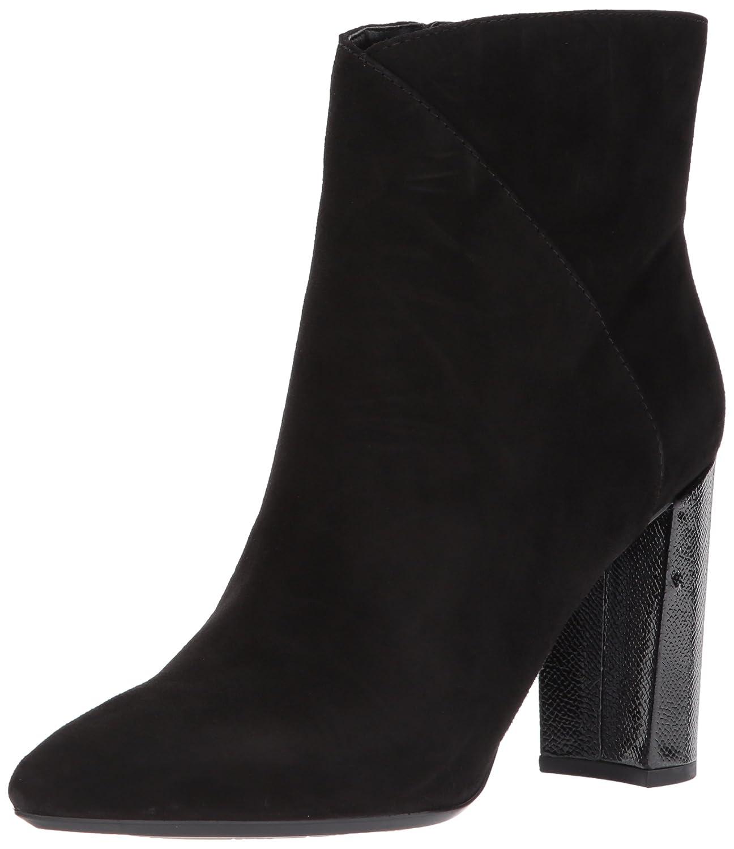 Nine West Women's Argyle Ankle Boot B06WRRB3P2 6.5 B(M) US|Black Suede
