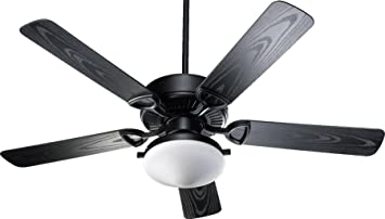 Quorum 1435255959 estate patio matte black 52 outdoor ceiling fan quorum 1435255959 estate patio matte black 52quot outdoor ceiling fan with light workwithnaturefo