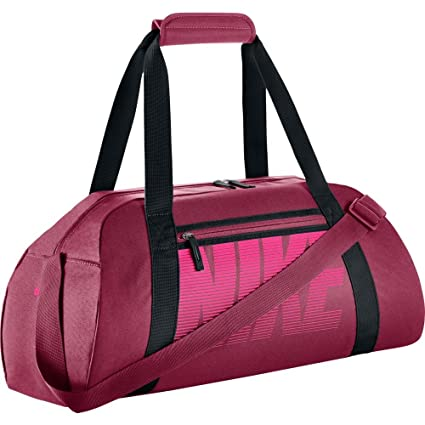 ecba78fe3c6d Nike Gym Club Noble Red Black Hyper Pink Women s Training Duffel Bag