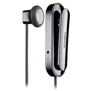 Nokia BH-118 - Auriculares (Monoaural, Negro, Dentro de oído, Bluetooth