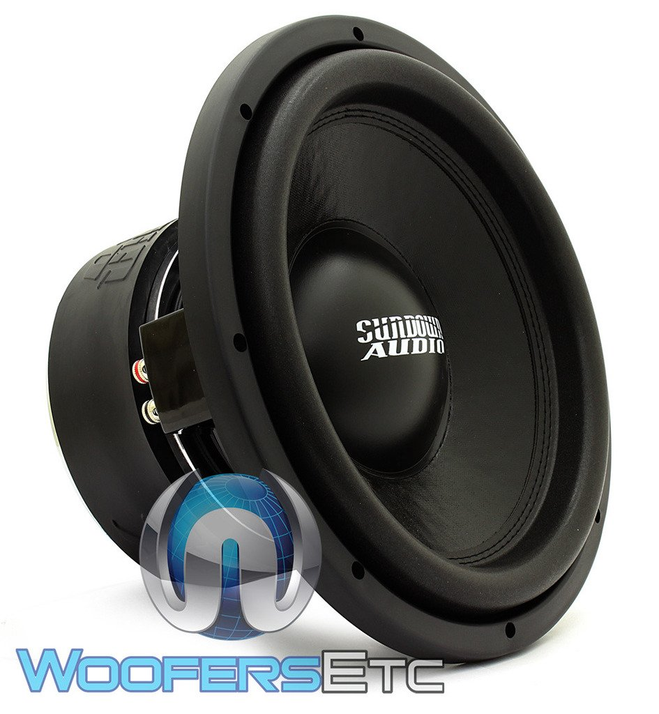 SA-12 D4 REV.3 - Sundown Audio 12'' 750W Dual 4-Ohm SA Series Subwoofer