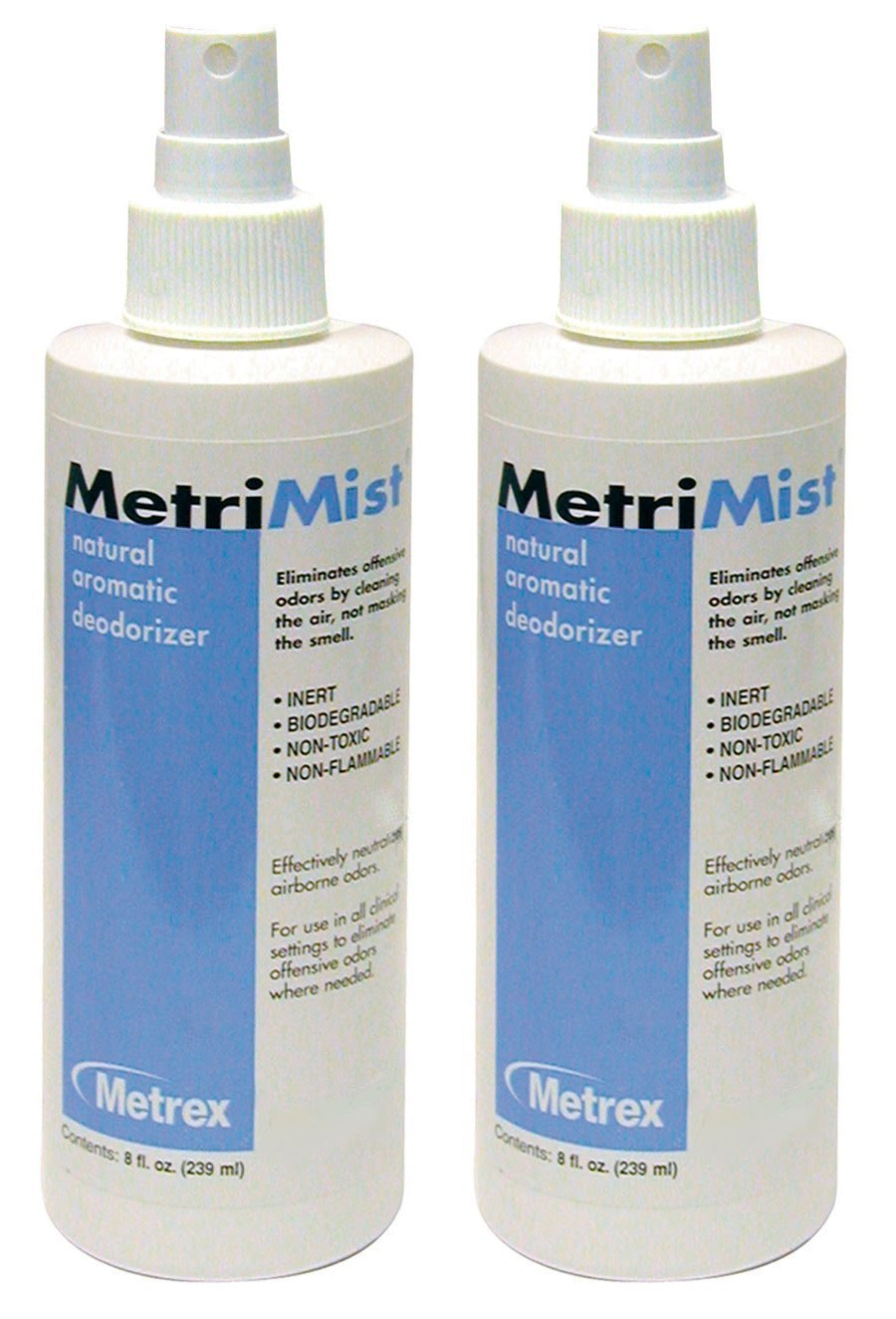 Metrimist Natural Aromatic Deodorizer - 8 Ounce Spray - Pack of 2