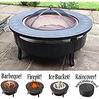 Grand brasero 3en 1pour barbecue