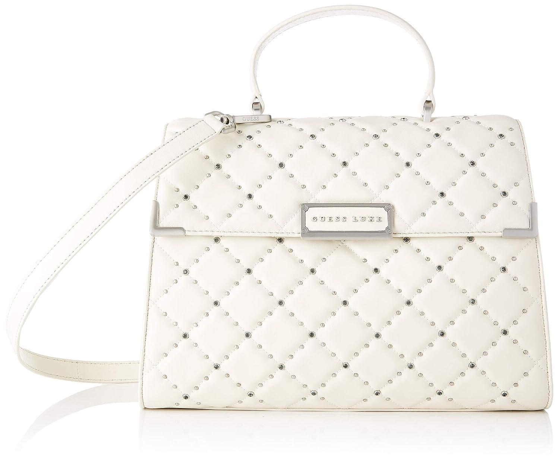 Guess kvinnors Cherie cross-body väska Off-white (Ivory Studs)