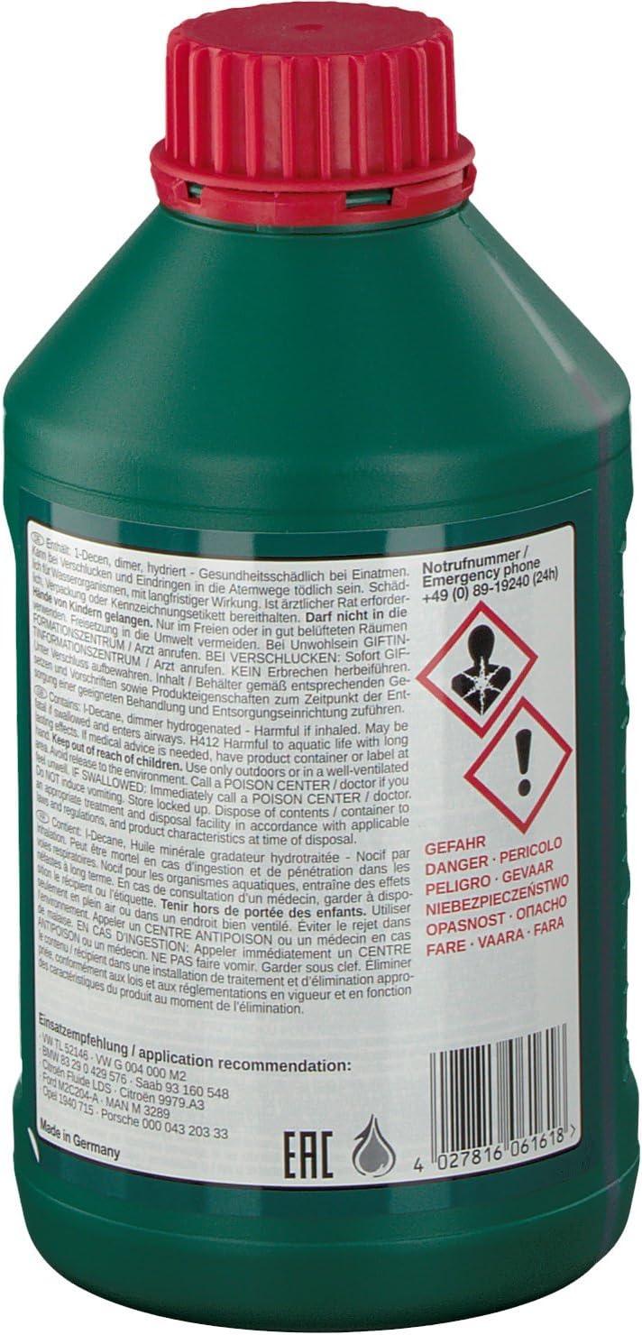 Febi bilstein 06161 Aceite hidráulico: Amazon.es: Coche y moto
