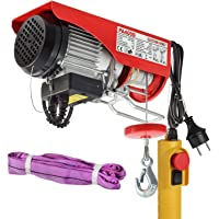 Partsam Polipasto eléctrico 200KG/400kg 900W 880lbs con control