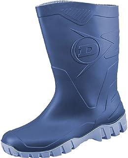 Dunlop Gummistiefel Grün, Botas de Agua para Hombre