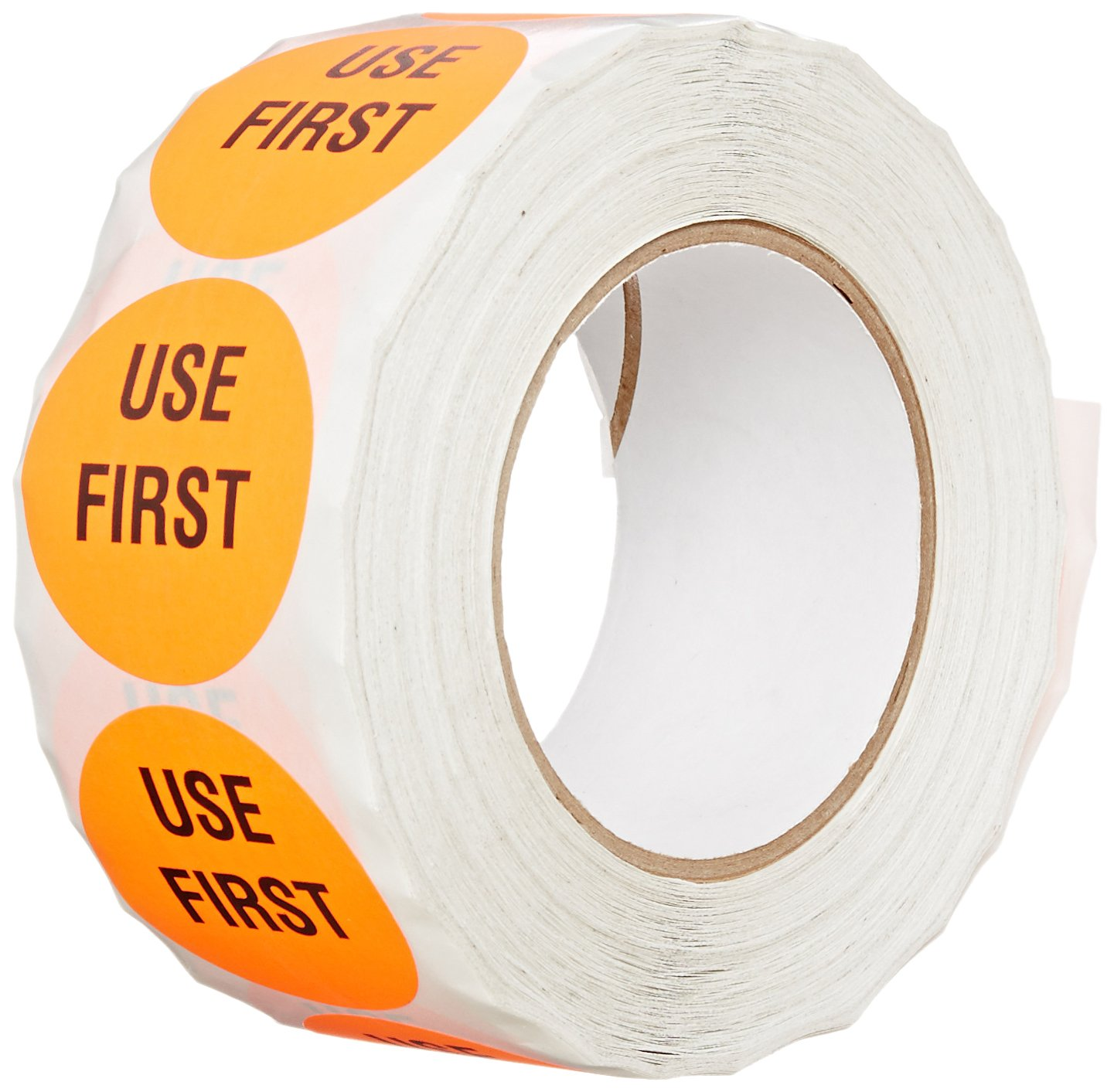 TapeCase INVLBL-037 Red'Use First' Inventory Control Label - 1000 per pack (1 Pack)