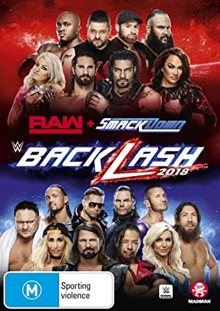 Amazon com: WWE Backlash 2018 | NON-USA Format | PAL