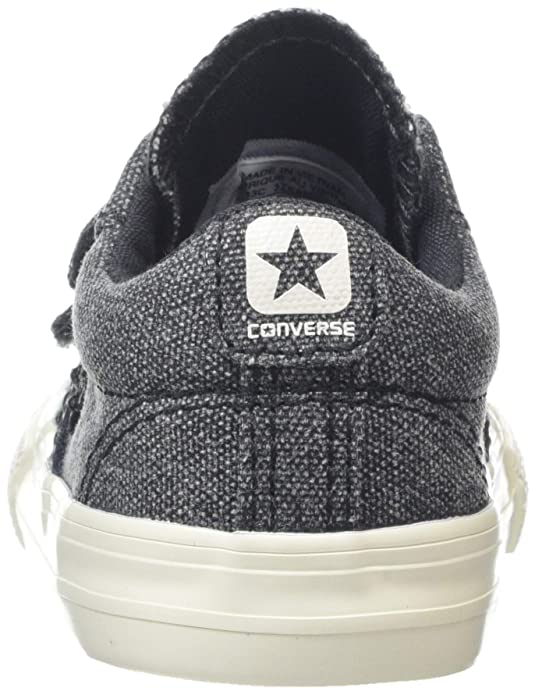 Converse Unisex Kids  Star Player Ev 2v Ox Almost Black Trainers   Amazon.co.uk  Shoes   Bags 951413d0d