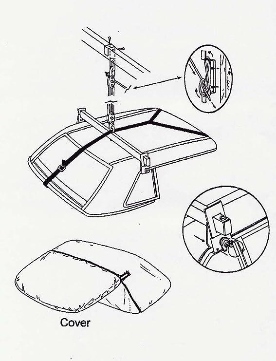Amazon Com Uro Parts Th 107 Hard Top Hoist Automotive