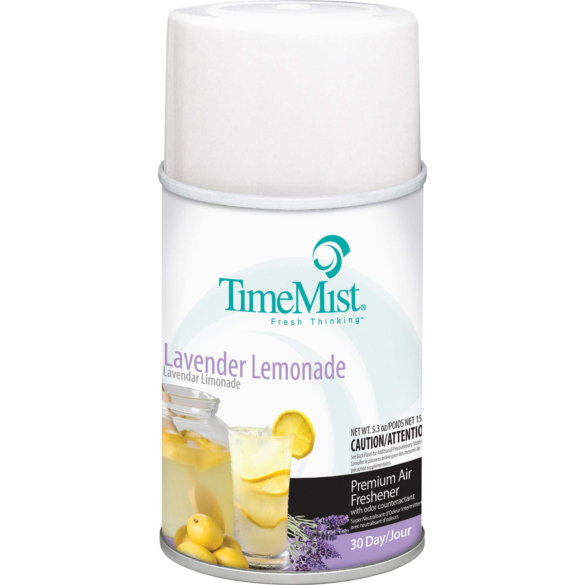 TimeMist 1042757 Lavender Lemon Metered Air Dispenser Refill (Pack of 12)