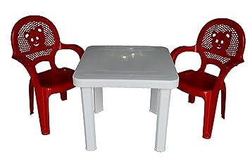 resol Niños sillas de Jardín plástico para Jardín y Exteriores y ...