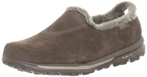 Skechers - Mocasines para Mujer Marrón marrón Chocolate: Amazon.es: Zapatos y complementos