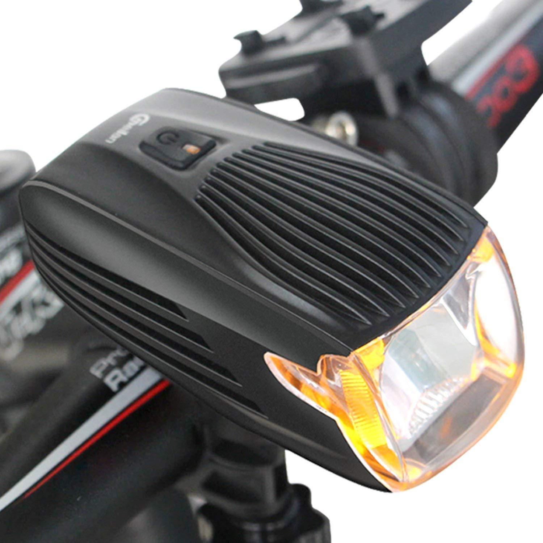 SLCSL LED Bicicleta luz, USB Recargables Bicicleta Faros ...