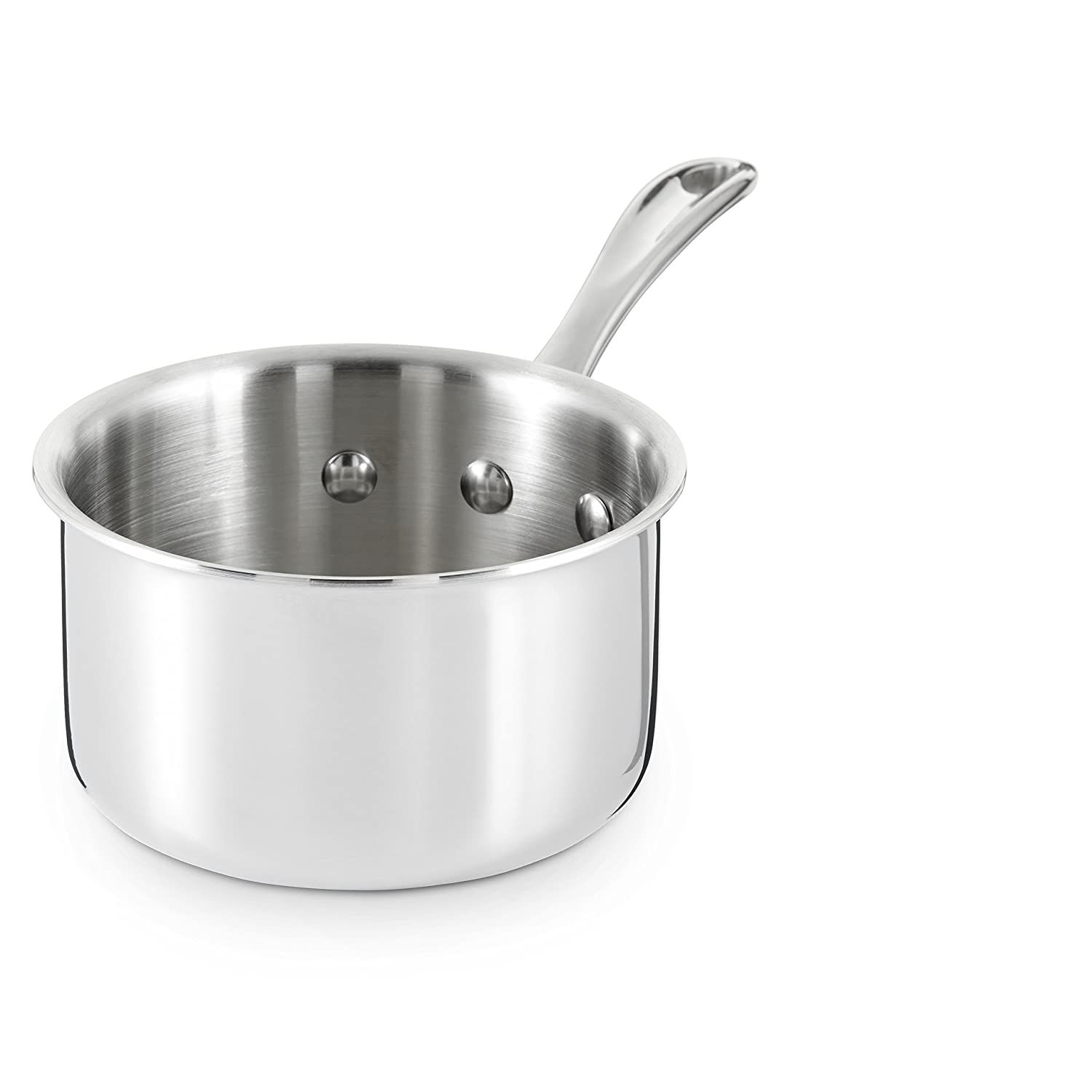 Calphalon Tri-Ply Stainless Steel 1-Quart Open Sauce Pan