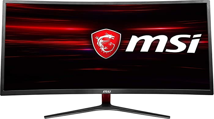 "MSI Non-Glare Ultrawide 21: 9 Screen 8ms 3440 X 1440 100Hz Freesync 3K Resolution 34"" Curved Gaming Monitor (Optix MAG341CQ)"