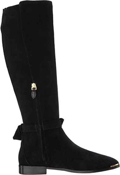 8.5 Medium US Ted Baker Womens LYKLA Over The Knee Boot Grey Suede