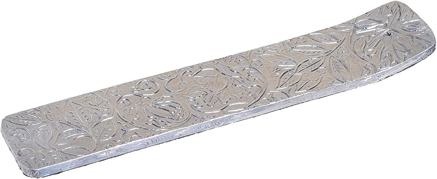 Ideal Gift for Aromatherapy Hosley Wood Incense Stick Holder Clad with Decorative Metal Foil Zen Vastu 10.50 Long Reiki Chakra Settings Spa