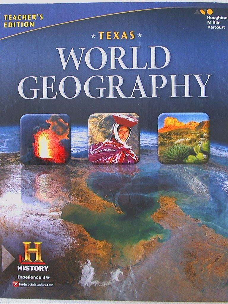 Texas World Geography Teachers Edition 9780544325920 0544325923