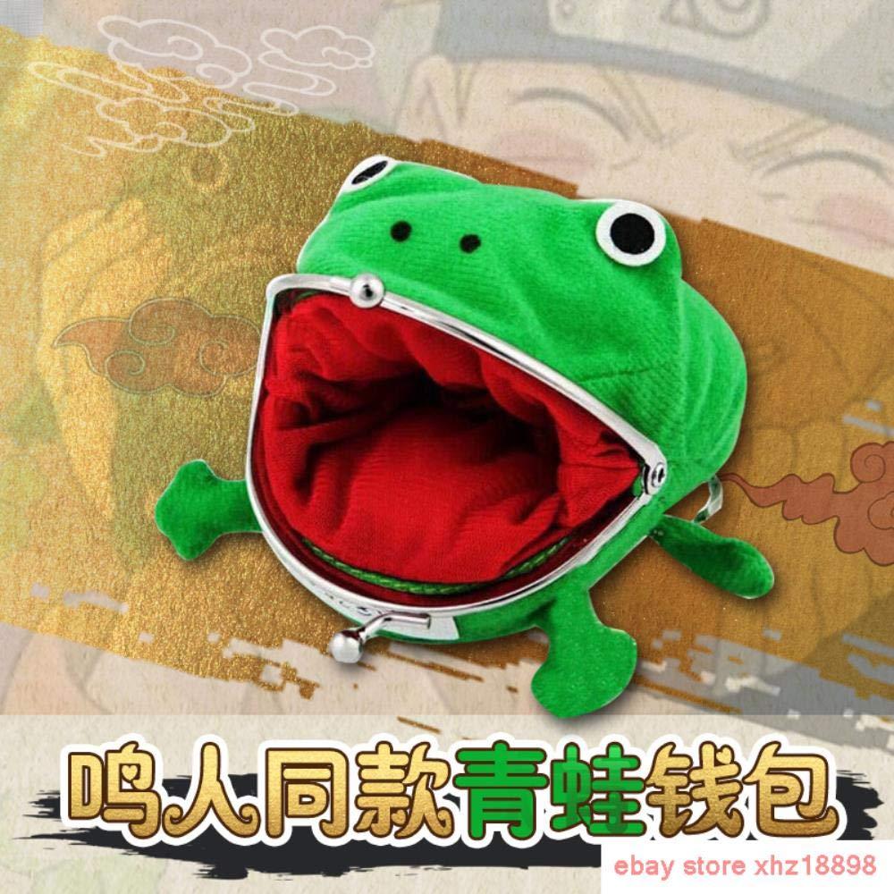 SWVV Uzumaki Naruto Anime Cartoon Wallet Frog Coin Purse ...