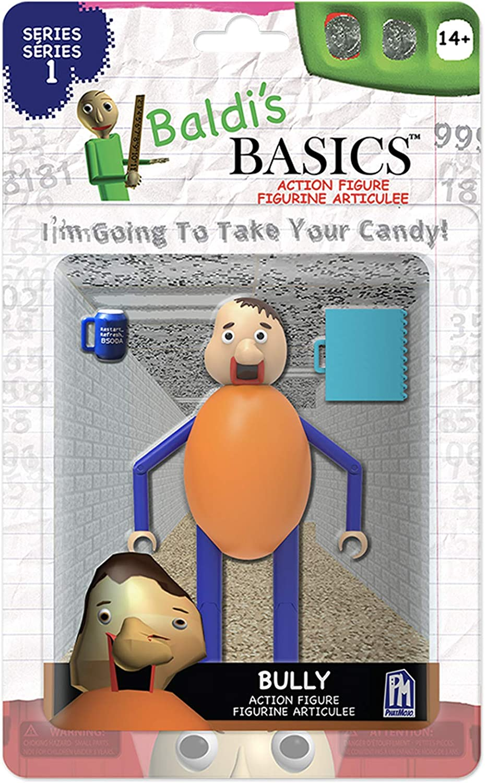 Amazon Com Baldi S Basics 5 Action Figure Bully Multicolour Toys Games