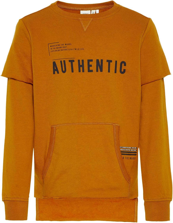 NAME IT Jungen Organic Sweatshirt Pullover 13159537