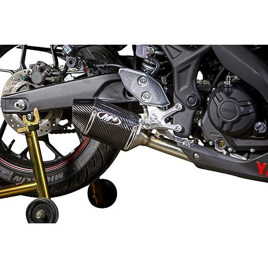 Capa de escape M4 de fibra de carbono para Yamaha YZF-R3 ...