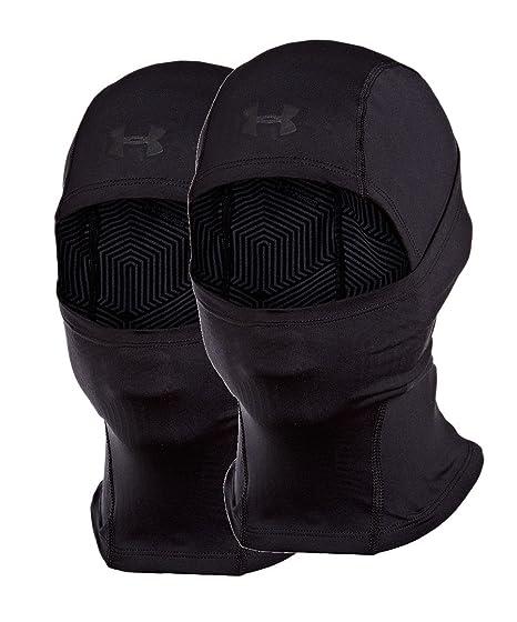 6b0b666641f Amazon.com  Under Armour Men s ColdGear Infrared Tactical Hood Balck  2-Pack  Clothing