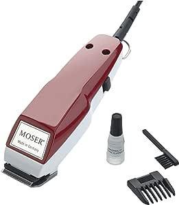 Moser 1400 Mini - Cortapelos, color rojo: Amazon.es: Salud y ...