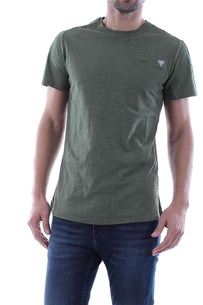 Guess M92I58 K8HM0 Camisetas Y Camisa DE Tirantes Hombre: Amazon.es: Ropa y accesorios