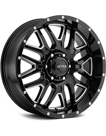 22ad8e234a0 Ultra 203BM Hunter 18x9 6x139.7 -12mm Black Milled Wheel Rim