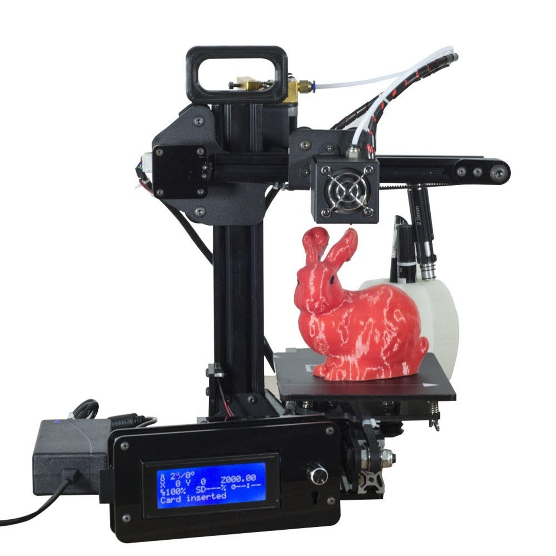 hieha® Impresora 3d Printer portátil Set Pro (Aluminum máquina ...