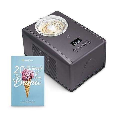 recetas para helados caseros con maquina