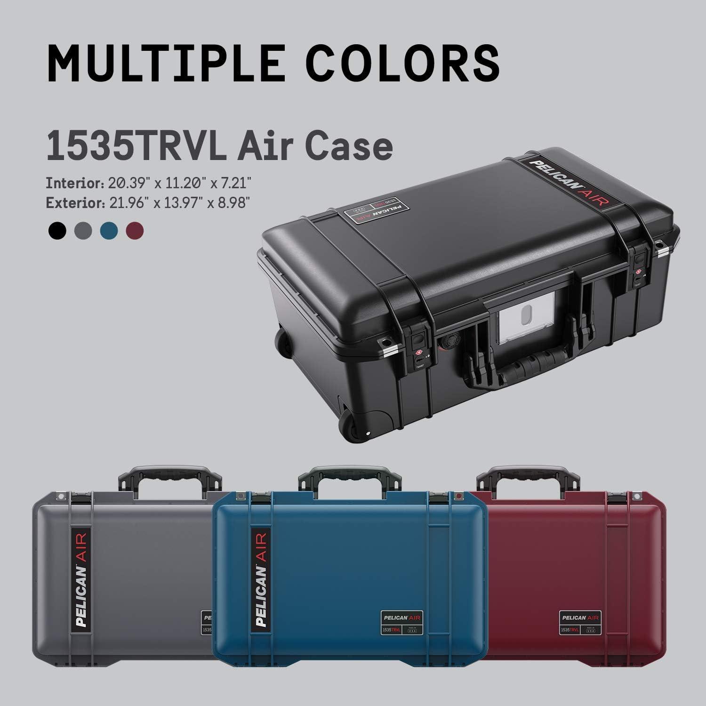Pelican Air 1535 Case with Foam Silver