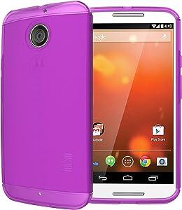 TUDIA LITE TPU Bumper Protective Case for Motorola Moto X (2nd Gen 2014 Release ONLY) (Purple)