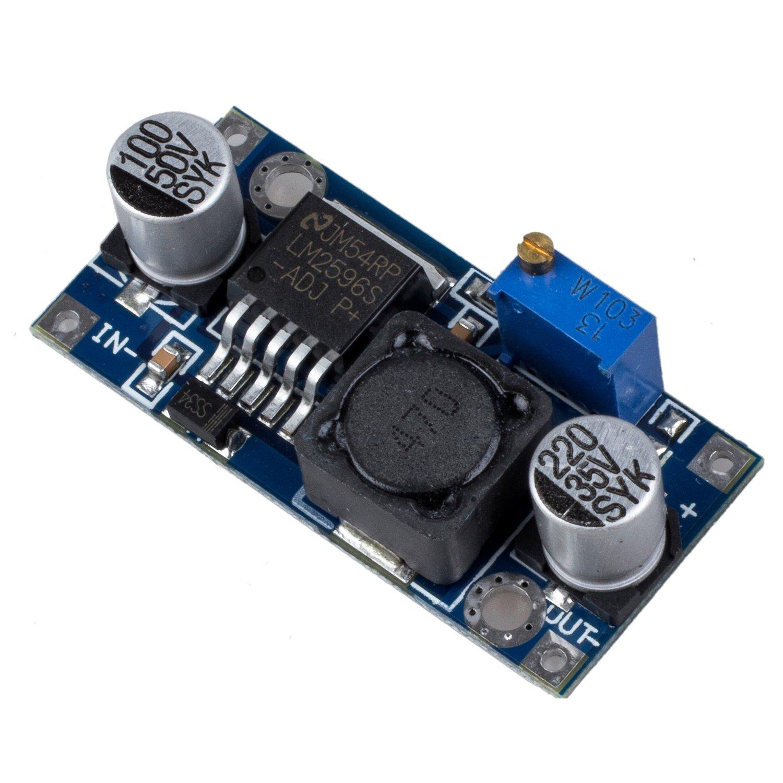 Buck Converter Module - SODIAL (R) LM2596 Switch Regulator Module DC-DC Adjustable Buck Converter 011947