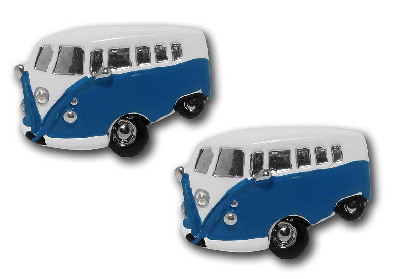 Motor Vehicle Cufflinks - CU0137BL - Boutons de manchette Homme - Rhodium
