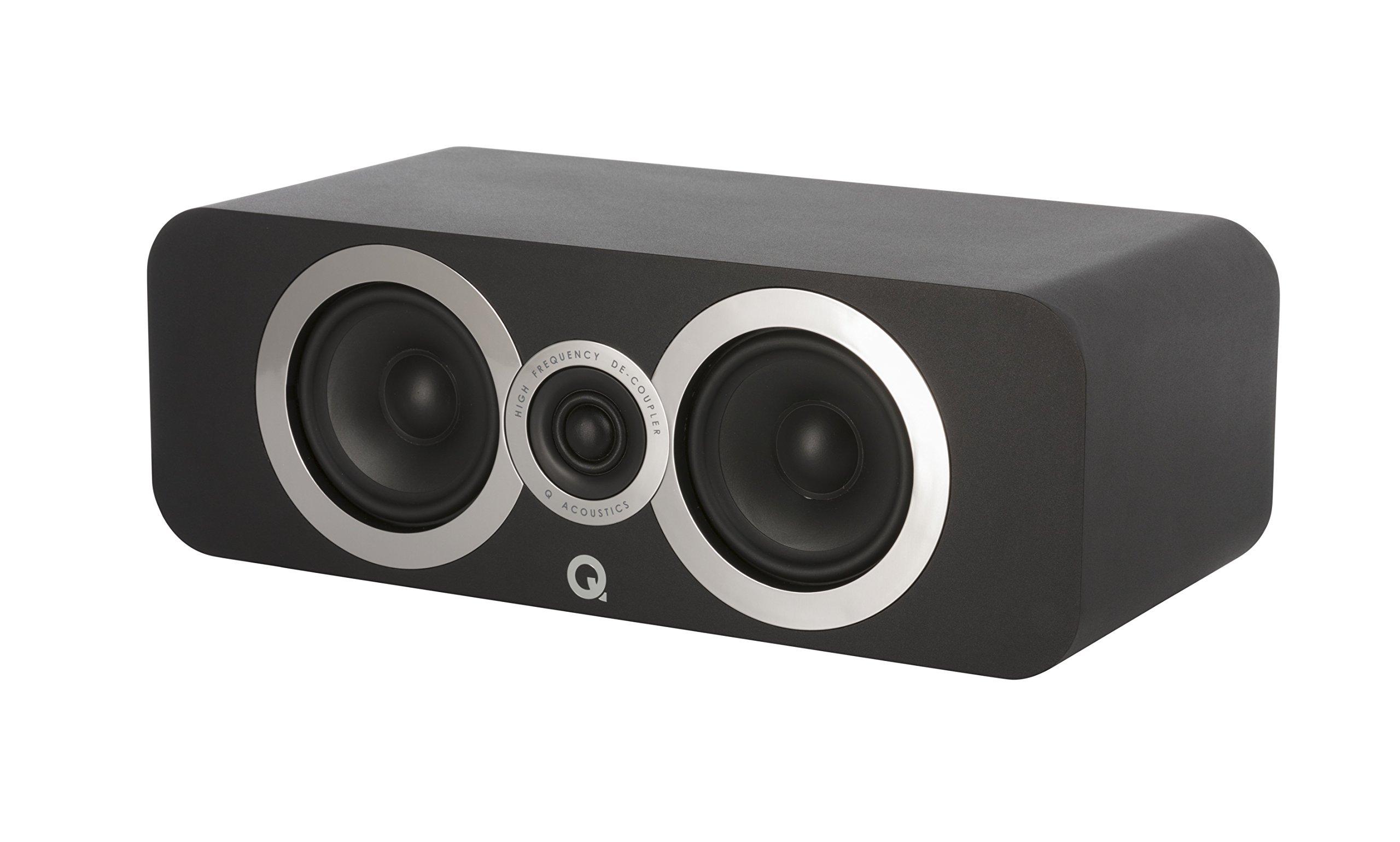 Q Acoustics 3090Ci Center Speaker (Carbon Black) by Q Acoustics (Image #4)
