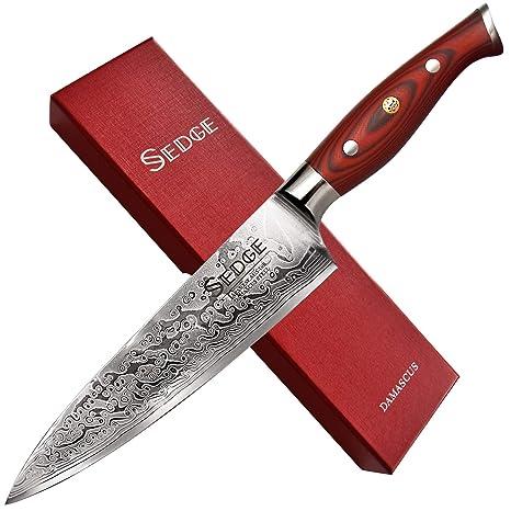 Amazon.com: Sedge AUS-10 - Cuchillo de trinchar de acero al ...