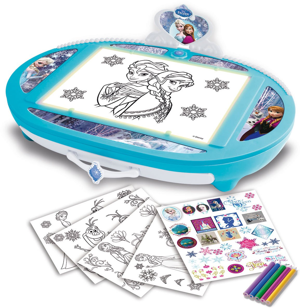 IMC Toys Frozen - Ilumina y Dibuja