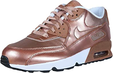 Kids Air Max 90 Leather Running Shoes