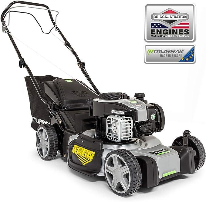 Murray EQ500 - Cortacésped de gasolina autopropulsado de empuje de 46 cm con motor Briggs & Stratton 500E Series: Amazon.es: Bricolaje y herramientas