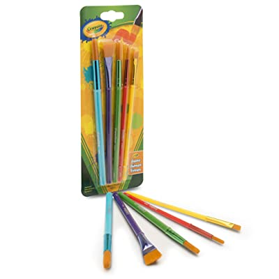 Crayola Arts & Craft Brushes, Assorted 1 ea: Toys & Games